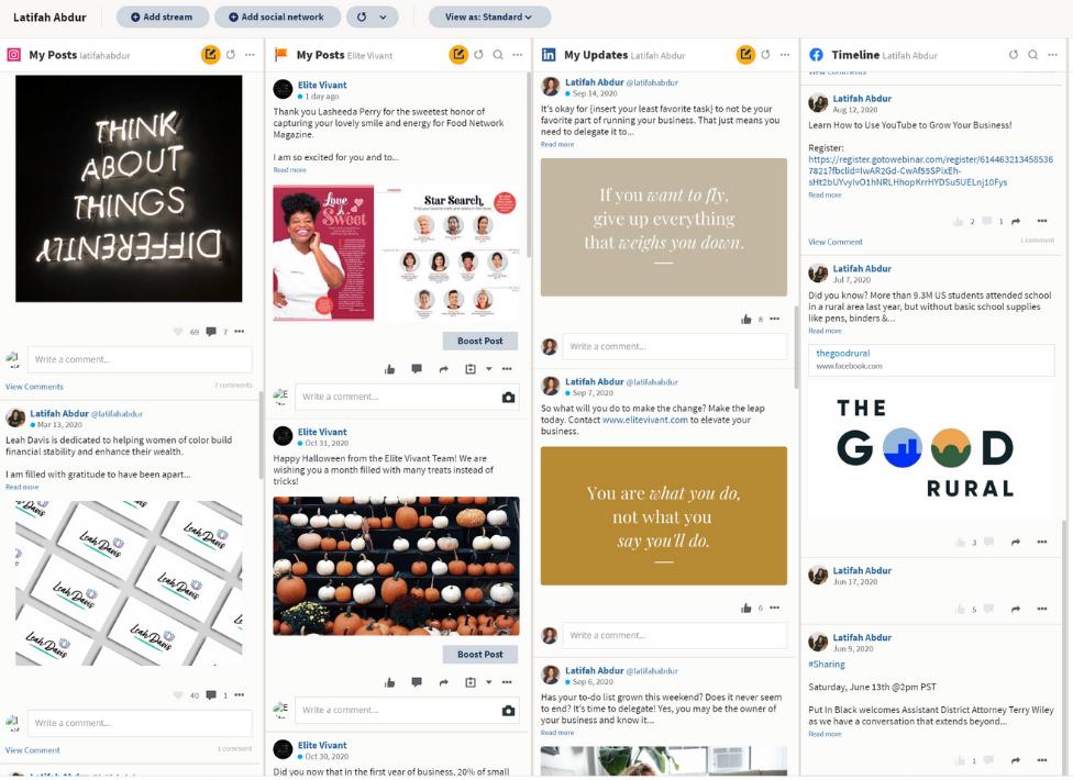 Social Media Management Elite Vivant Branding and Marketing